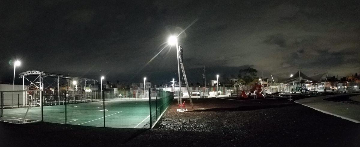 Proyectos - Iluminado Público con Panel Solar 2