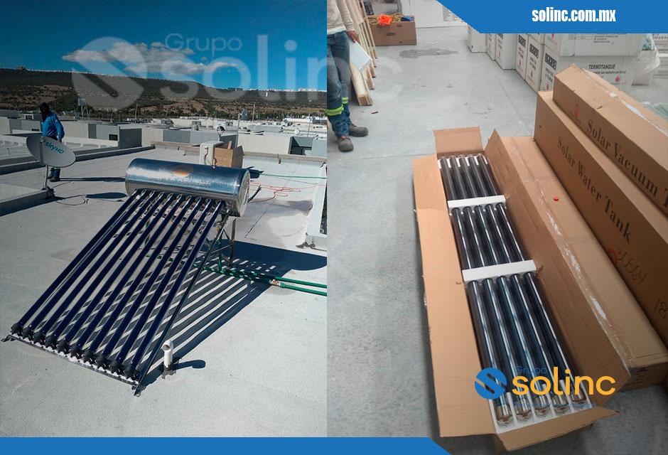 Proyecto Calentadores Solares Solinc 8