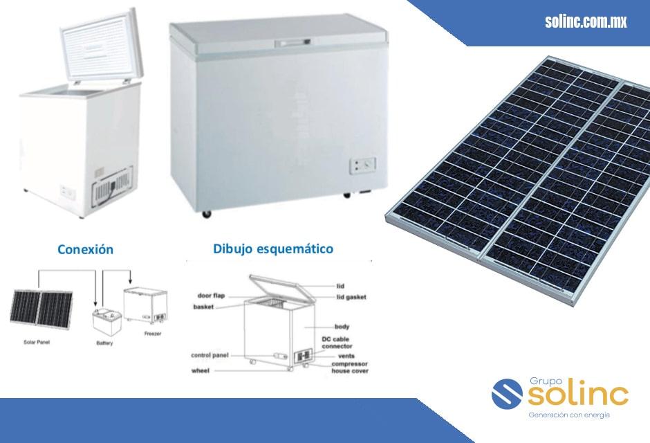 Refrigeradores Solares 150lt 258lt 12/24v