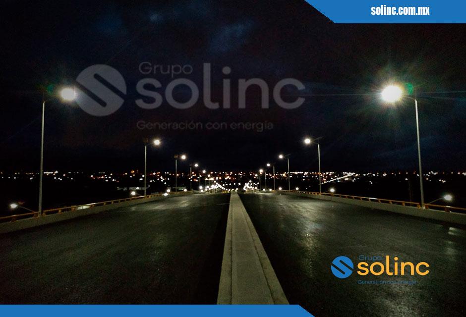 Luminarias en Postes Solares Solinc 11