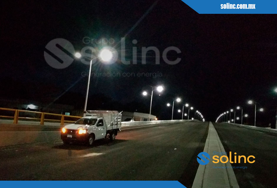 Luminarias en Postes Solares Solinc 12