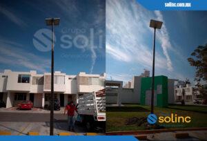 Luminarias en Postes Solares Solinc 3