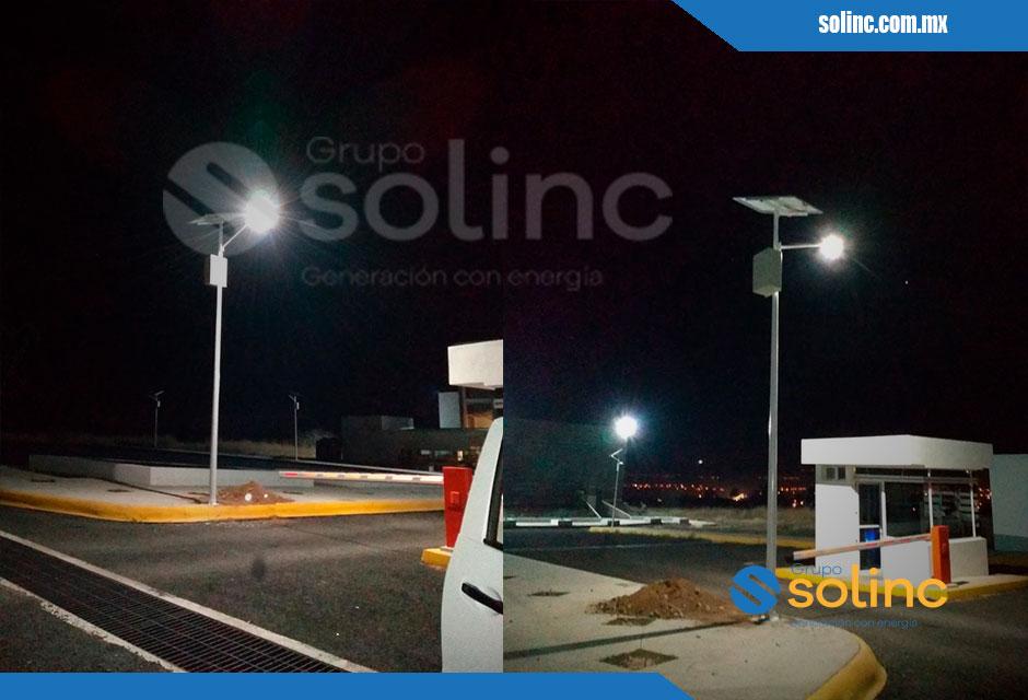 Luminarias en Postes Solares Solinc 4