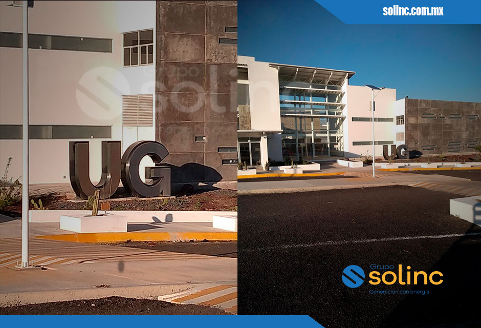 Luminarias en Postes Solares Solinc 5