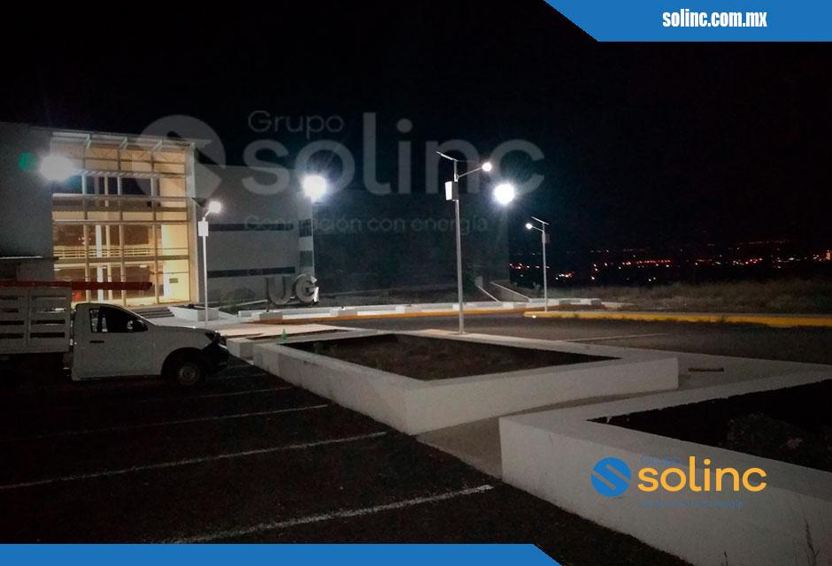 Luminarias en Postes Solares Solinc 6