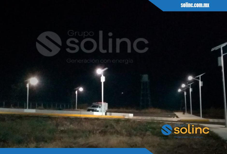 Luminarias en Postes Solares Solinc 7