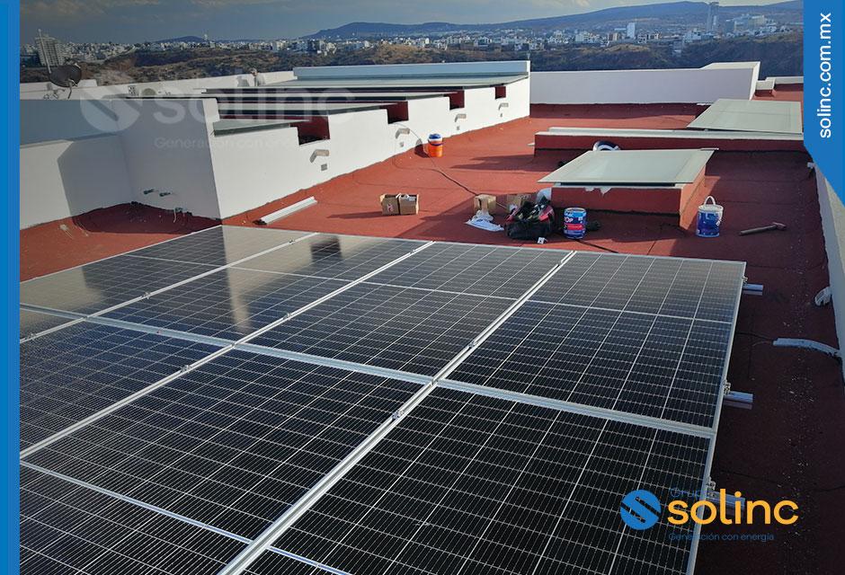 Proyecto de Paneles Solares Residenciales Hogar en El Campanario Querétaro